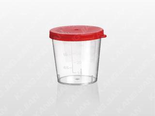 尿液标本杯 40ml 手揿盖