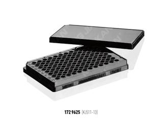 培養板 96孔 白/黑 平底